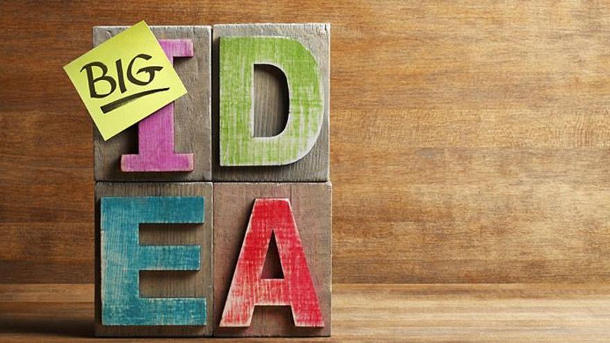 Hoy en día, se invierte más en ideas que en cosas.