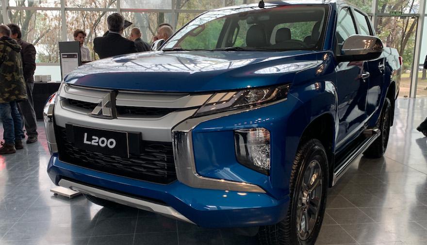Otra de las pick ups japonesas: Mitsubishi L200.