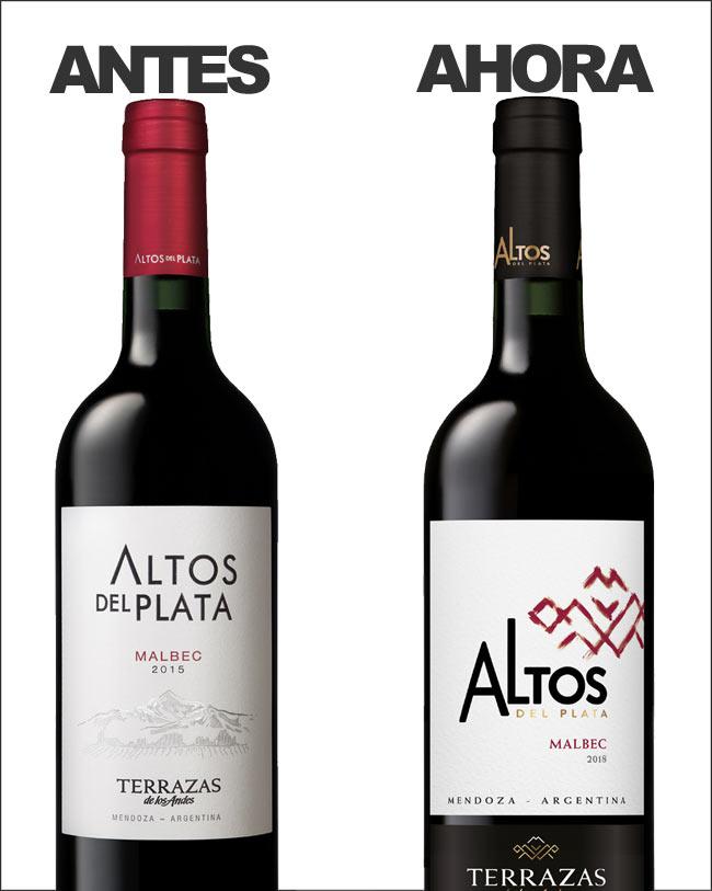 La Línea De Vinos Altos Del Plata Estrena Nueva Imagen
