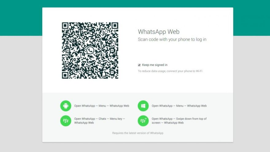 El uso de WhatsApp Web creció en la pandemia.