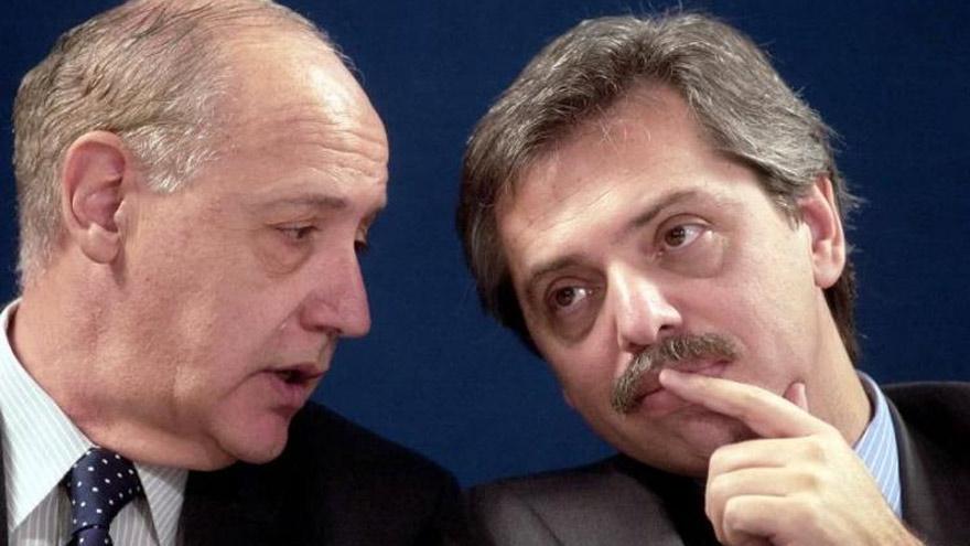 Fernández y Lavagna compartieron Gabinete en el gobierno de Néstor Kirchner.
