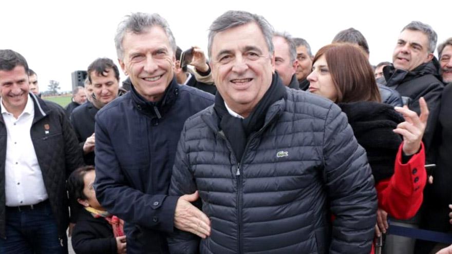 Macri y Negri, dos opositores al gobierno.