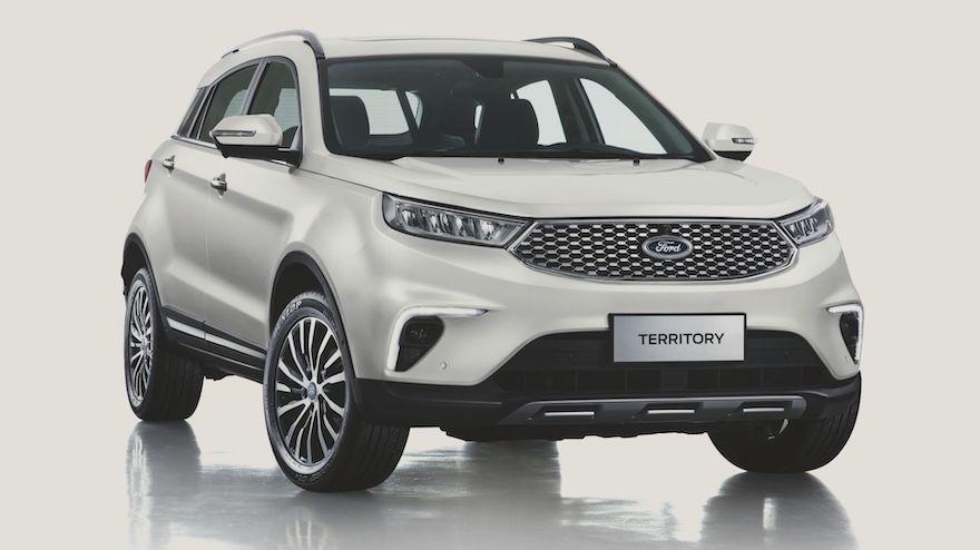 La nueva Ford Territory llegará antes de fin de año.
