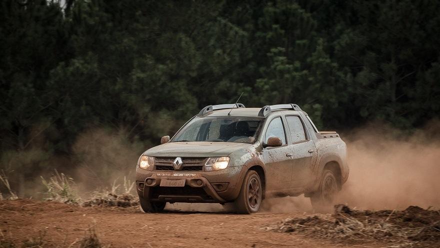 Renault Duster Oroch, con dos opciones de motor.