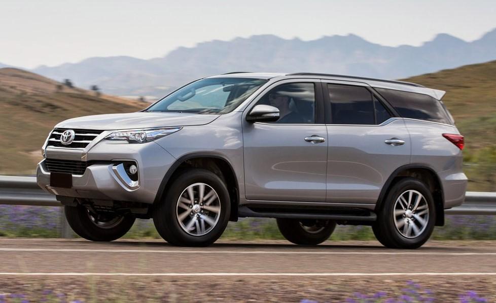 Toyota SW4: el SUV de gran porte también se produce en Zárate para otros países.