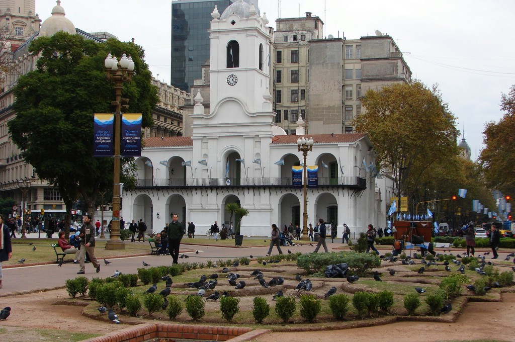 Así luce hoy el Cabildo de Buenos Aires