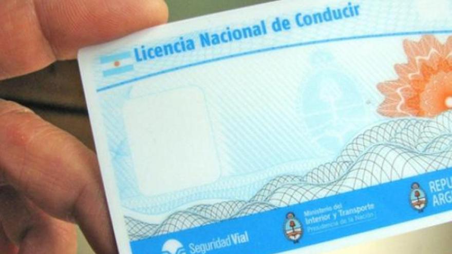 La renovación de registro de conducir se extendió en CABA.