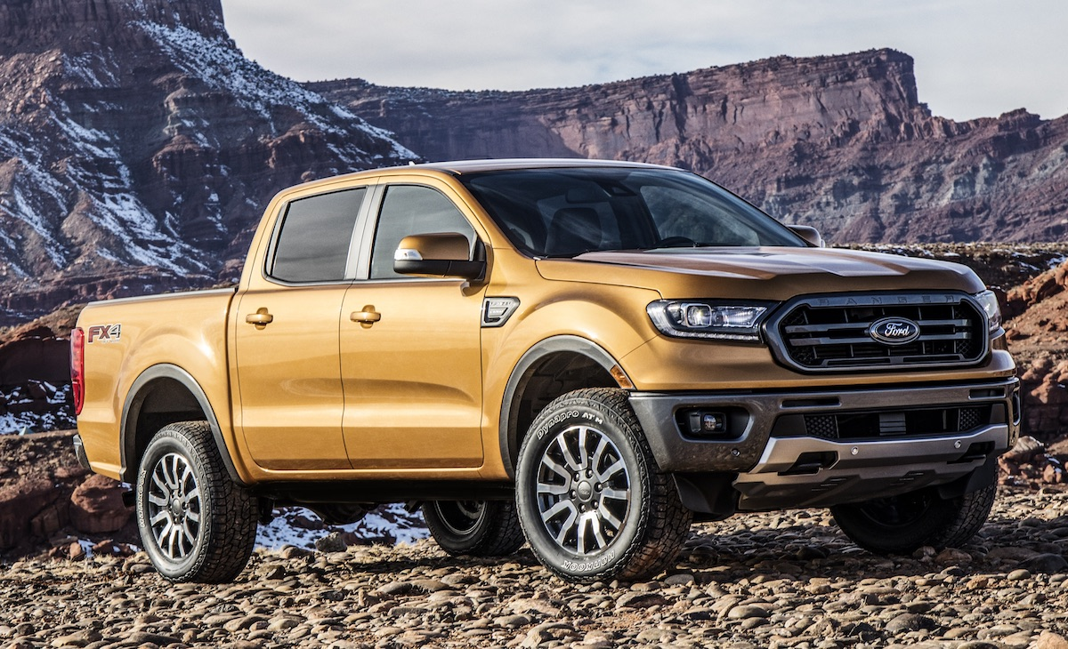 Ford Ranger, la tercera pick up del top ten.