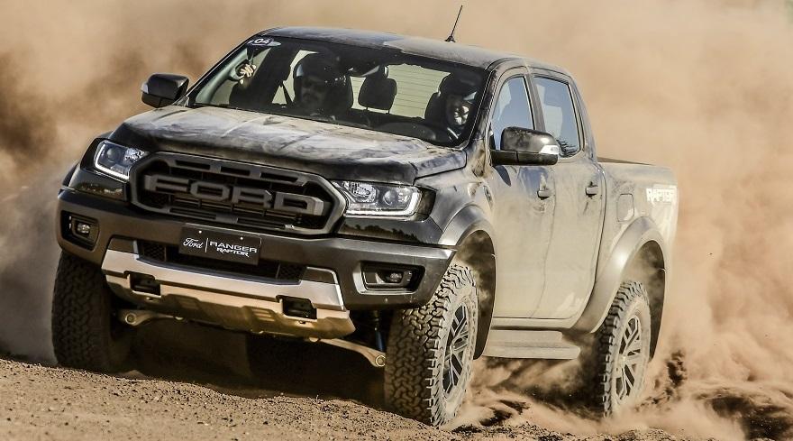Ford Ranger, una de las más vendidas en su segmento.