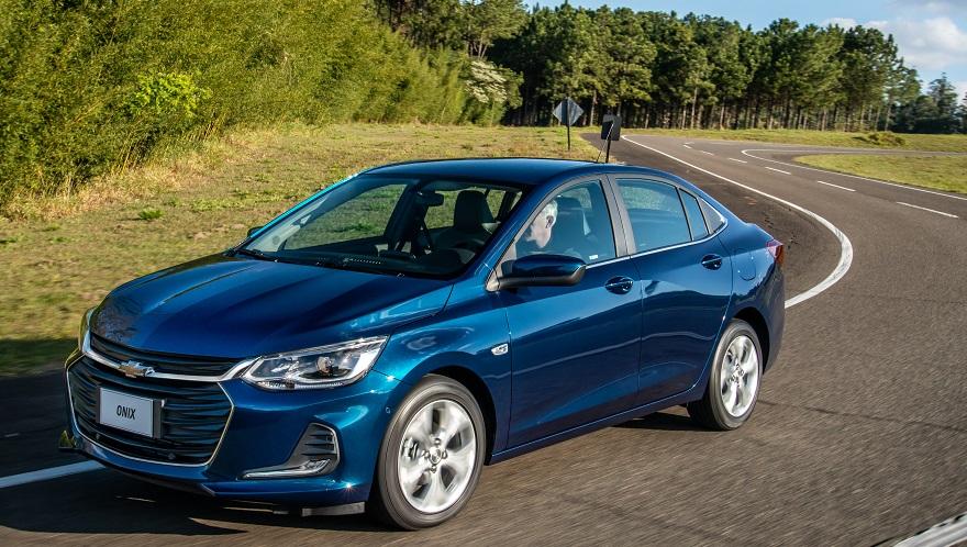Chevrolet Onix, el auto más vendido de abril.