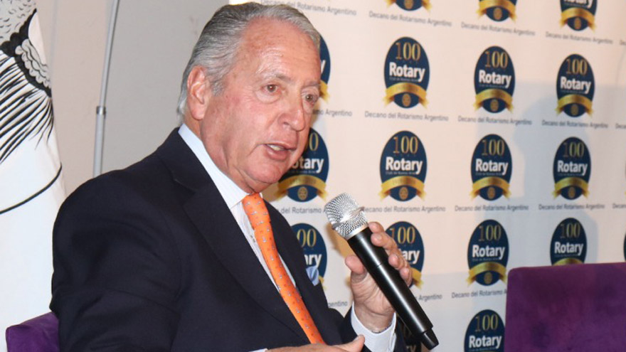 El actual presidente de la UIA, Daniel Funes de Rioja, apoya las modificaciones