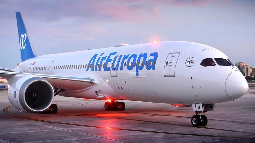 La aerolínea Air Europa aumentó la frecuencia de sus vuelos entre Madrid y Buenos Aires