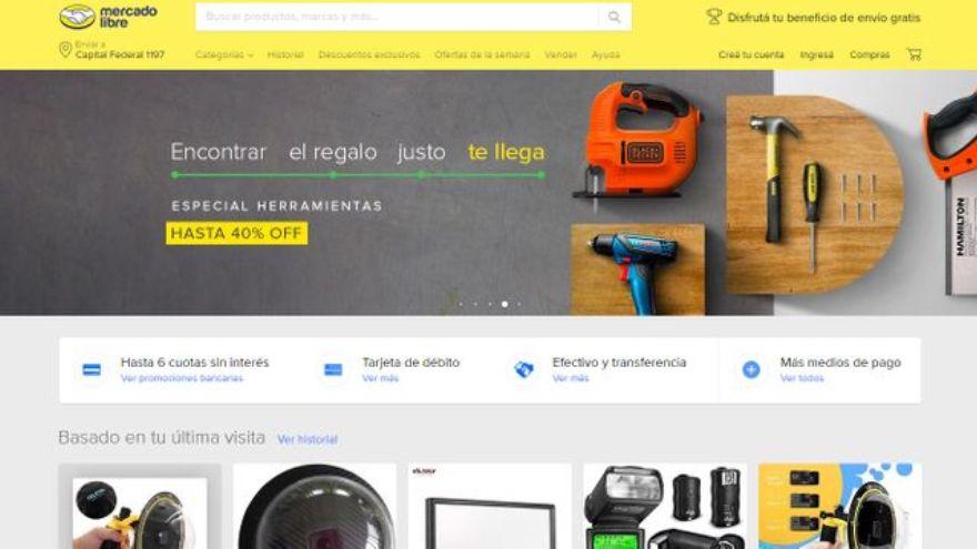 En Argentina, Mercado Libre es el marketplace que registra más operaciones