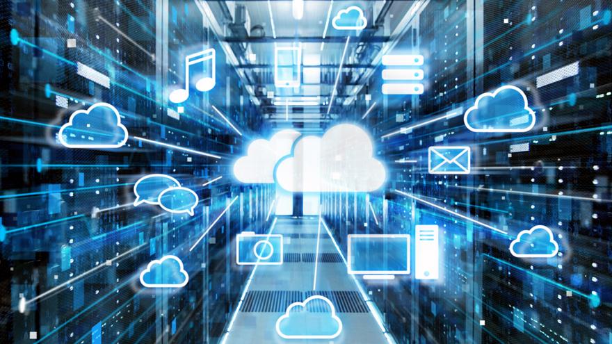 La nube informática es uno de los escenarios donde Microsoft despliega su inteligencia artificial.