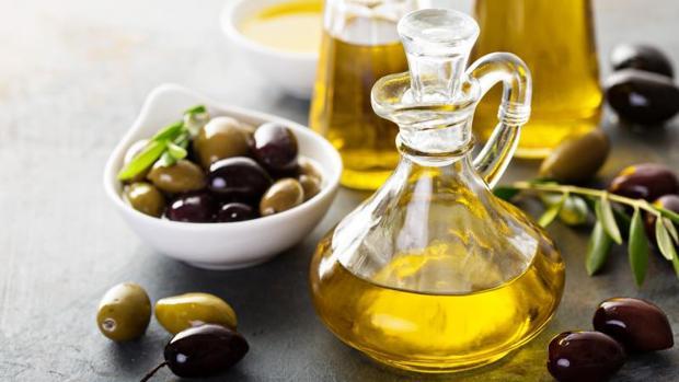 El aceite de oliva es clásico de la dieta mediterránea