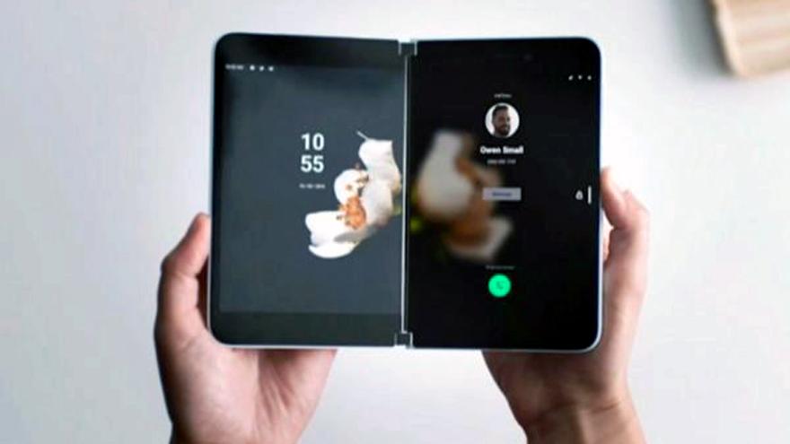 El Microsoft Surface Duo contará sólo con cámara trasera.