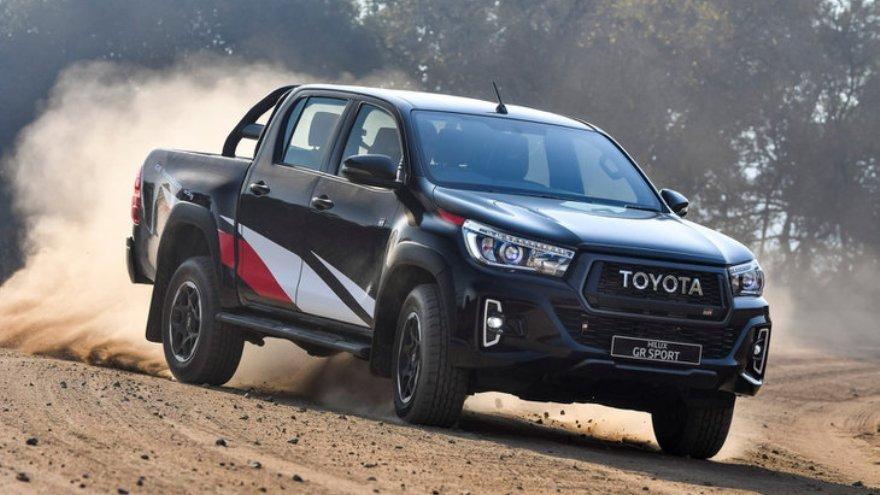 Toyota Hilux, una de las cuatro pick ups más vendidas de enero.