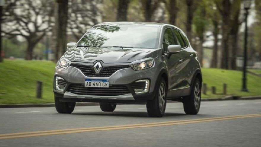 Renault Captur, firme en el top ten de los SUV.