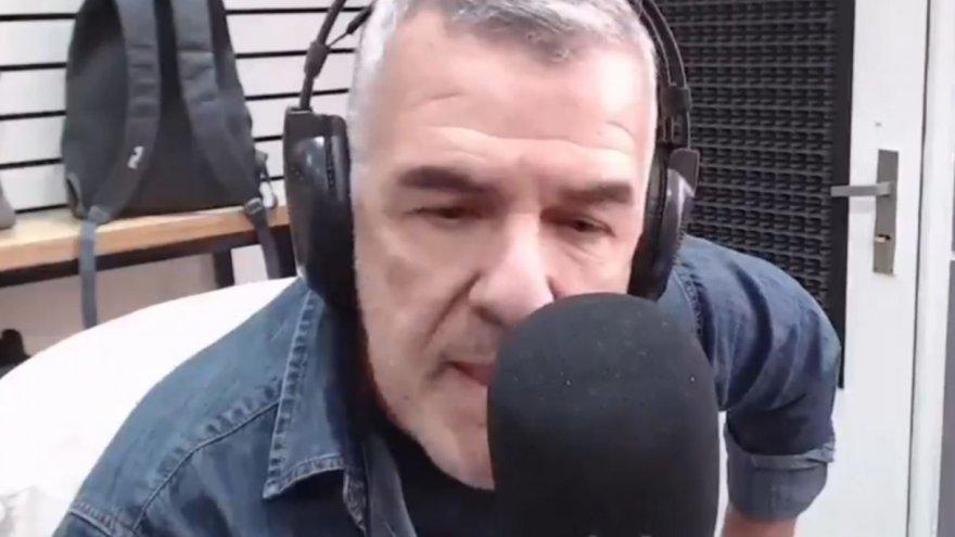 Brieva: el humorista fue crítico a Macri y hoy conduce un programa radial.