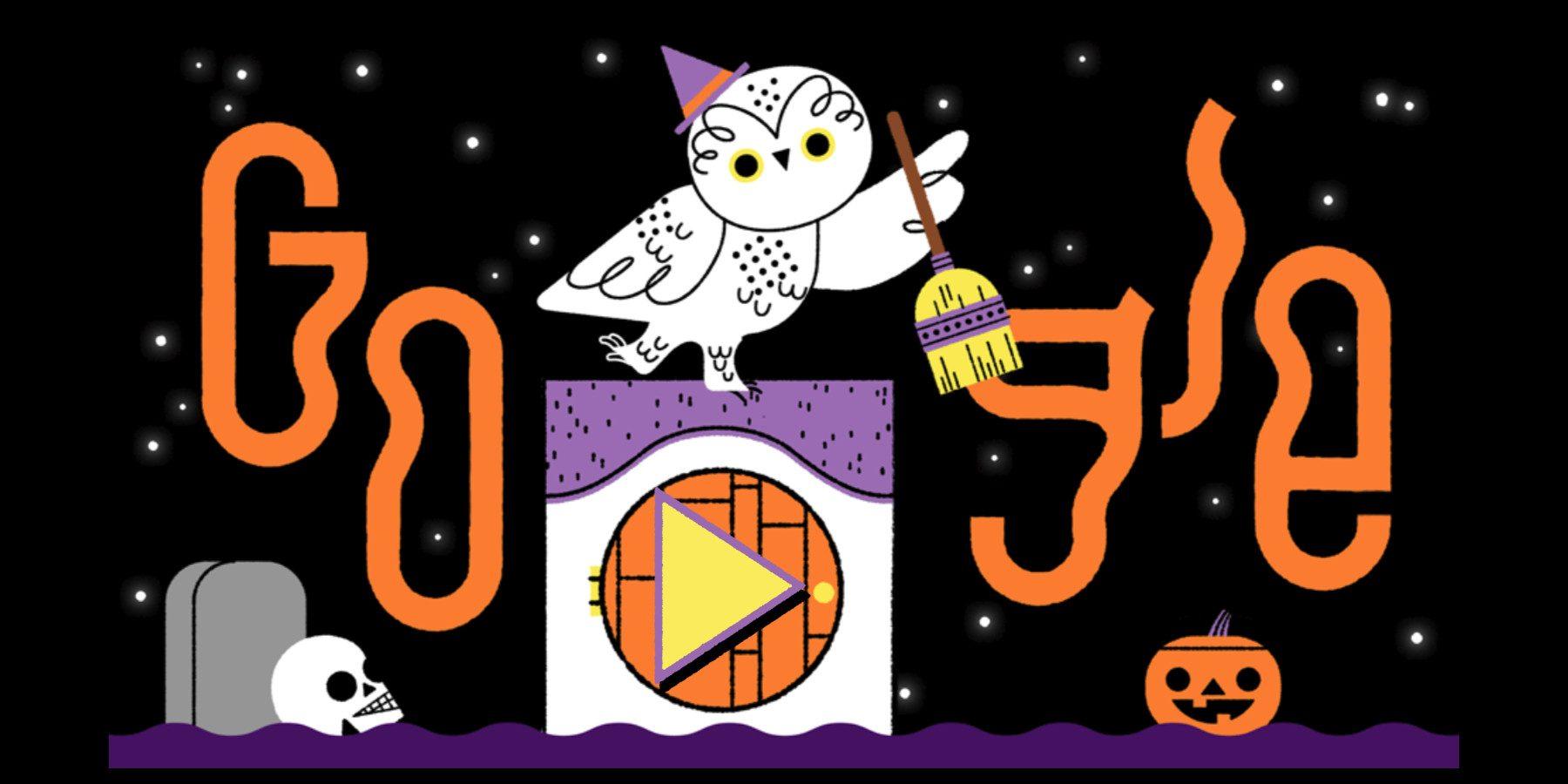 En otros años Google había experimentado con juegos para su doodle de Halloween.