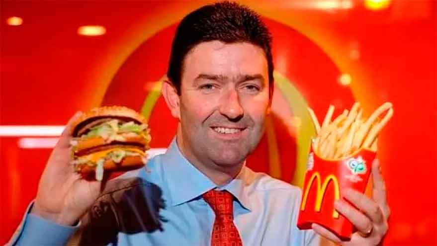 Steve Easterbrook, alto ejecutivo de McDonald's, perdió su cargo por su relación con una colega