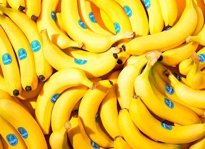 Las bananas se encuentran entre las frutas con mayor índice de azúcar
