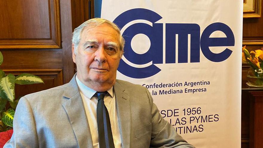 Rubén Martos, directivo de CAME y representante de las Pymes cordobesas.