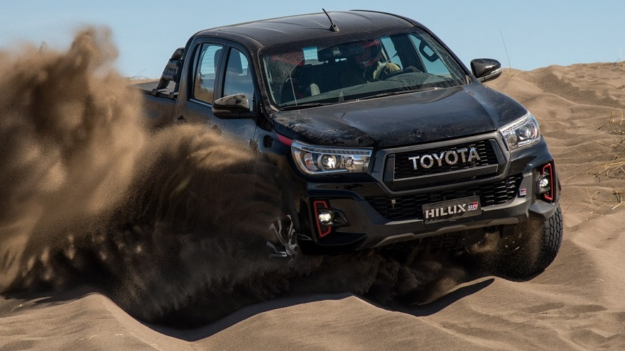 Toyota Hilux, el vehículo más vendido del mercado.