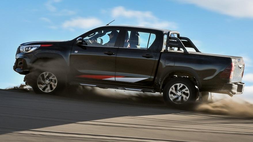 Toyota Hilux, la pick up número uno en ventas.