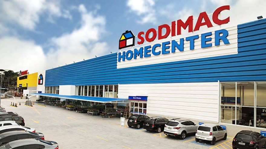 Sodimac: los autoservicios de ferretería y construcción son parte del grupo.