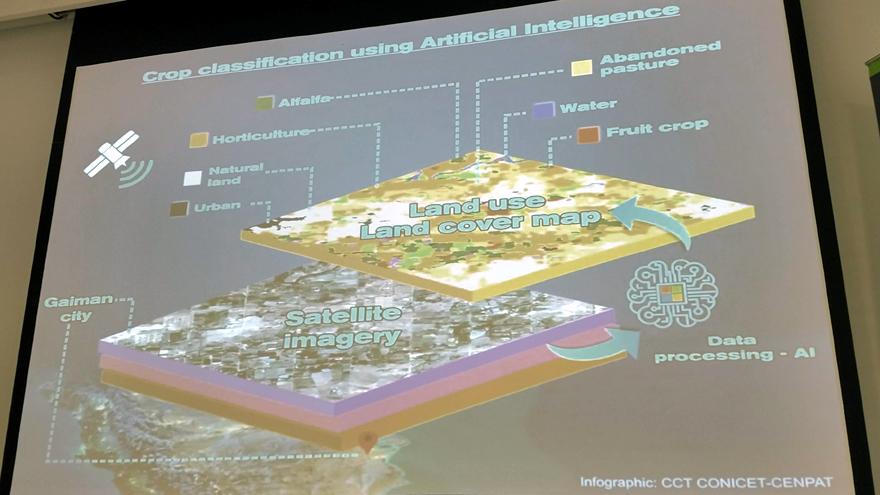 Proceso de aplicación de IA para generar el mapa.