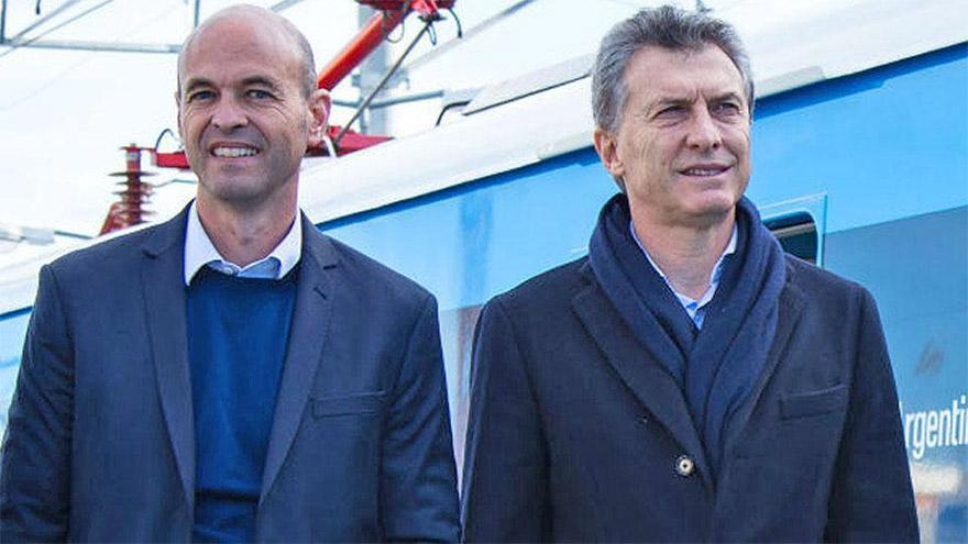 Guillermo Dietrich y Mauricio Macri: imputados en una causa penal.