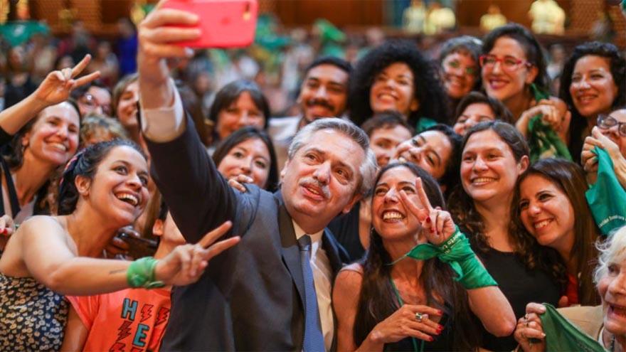 El proyecto sobre legalización del aborto fue una de las promesas de campaña de Alberto Fernández