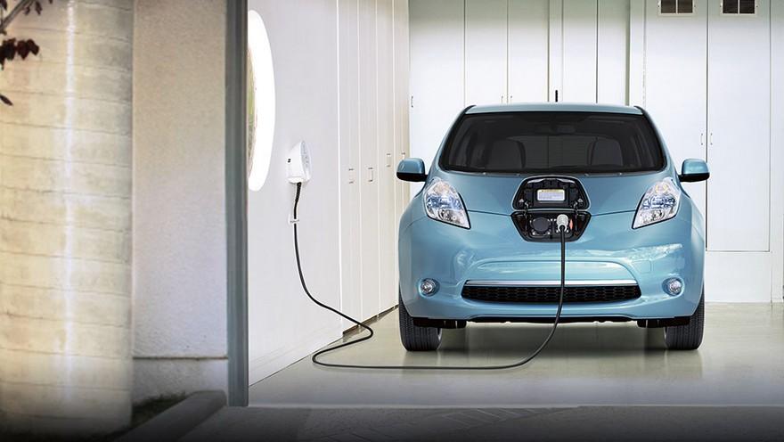 Nissan Leaf, el primer auto eléctrico de pasajeros que llegó al país.