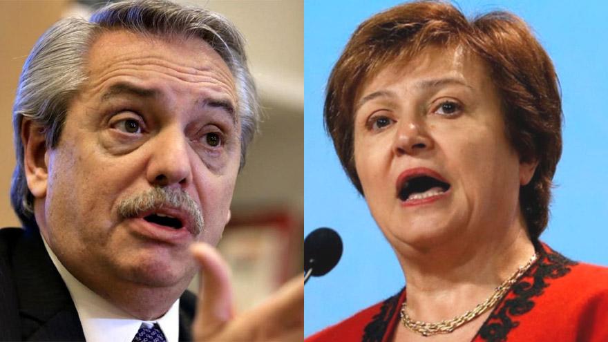 Alberto Fernández y Kristalina Georgieva: el ahorro fiscal de la nueva política jubilatoria va en línea con las recomendaciones del FMI