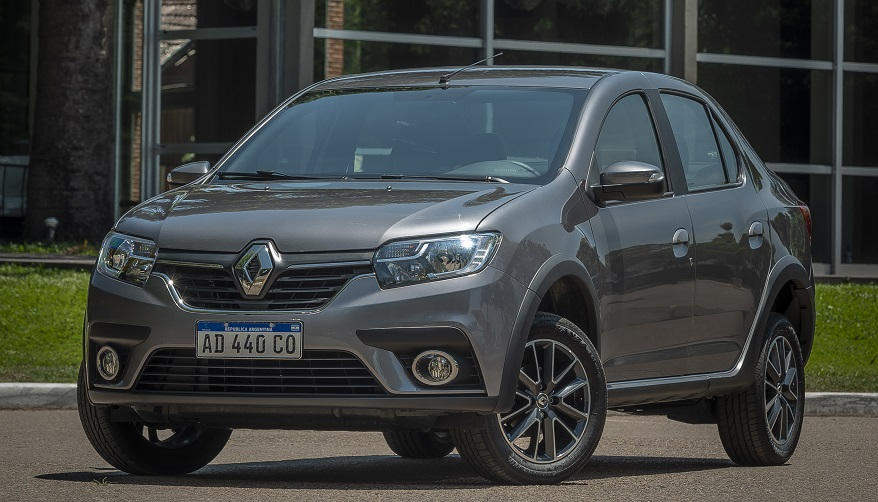 Renault Logan, en su última generación.