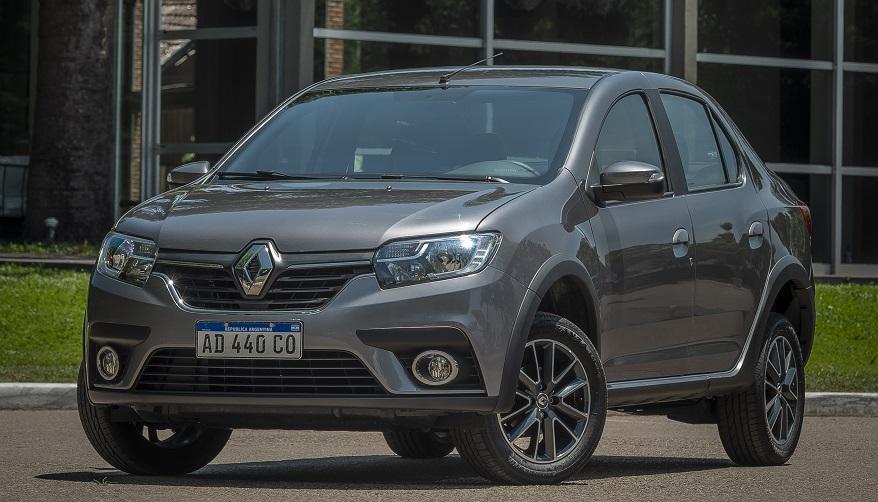 Renault Logan, el sedán más accesible de la marca y más completo.
