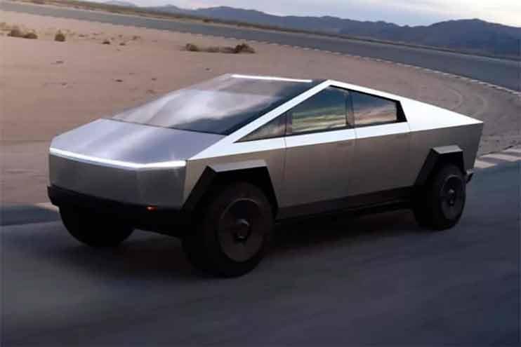 Autos eléctricos del futuro: Cybertruck.