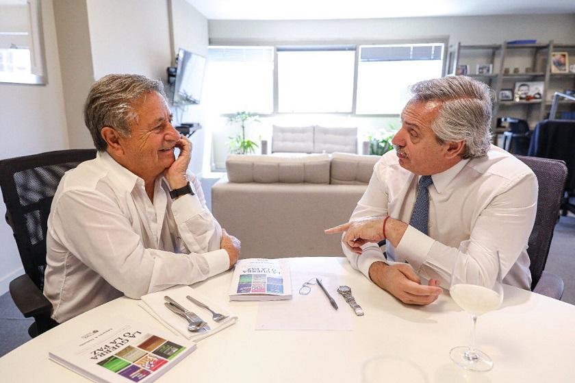 Duhalde con Fernández: antes acusado de conspirador por el kirchnerismo, ahora advierte sobre el riesgo de un golpe