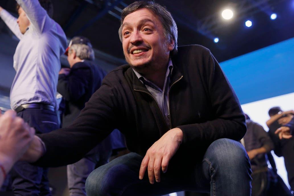 Máximo Kirchner, reunido con la CGT.