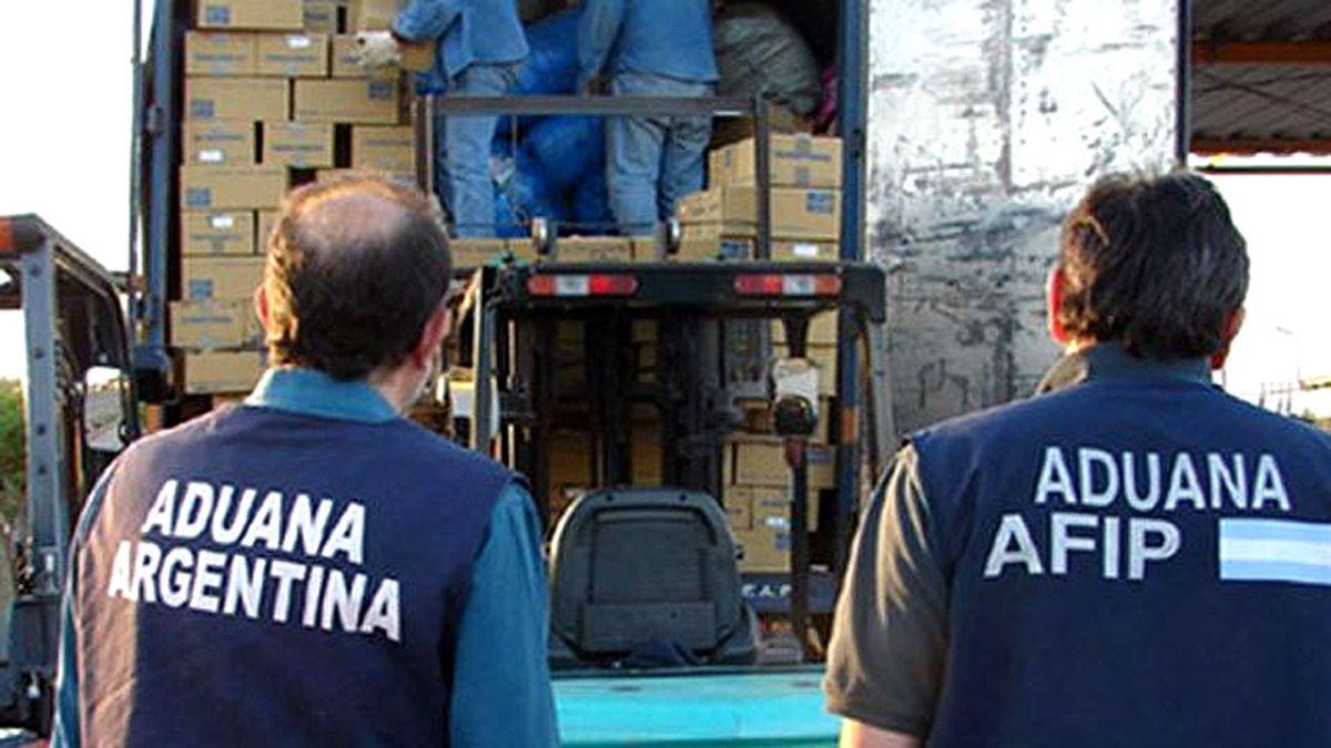 La denuncia a la asociación ilícita fue realizada por la Aduana argentina