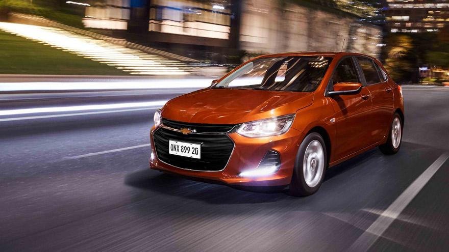 Subasta del Chevrolet Onix, el modelo más vendido del mercado.
