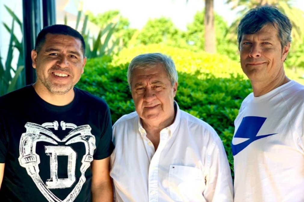 Mario Pergolini asumió en Boca junto a Jorge Ameal, quien preside el Club, en diciembre de 2019