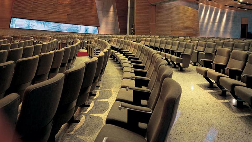 El auditorio de Comunidad Amijai donde se presentará Alejandro Melamed.