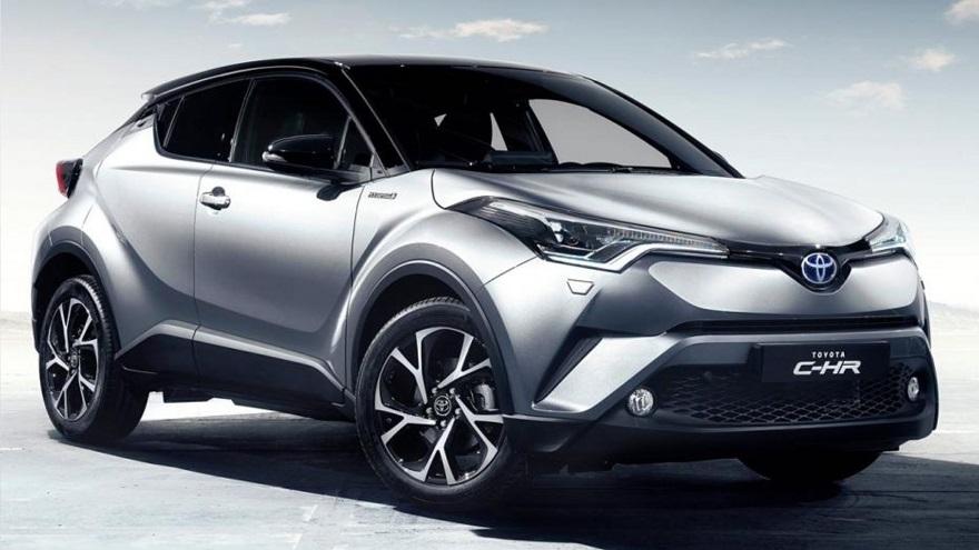 CH-R, el SUV híbrido de Toyota.