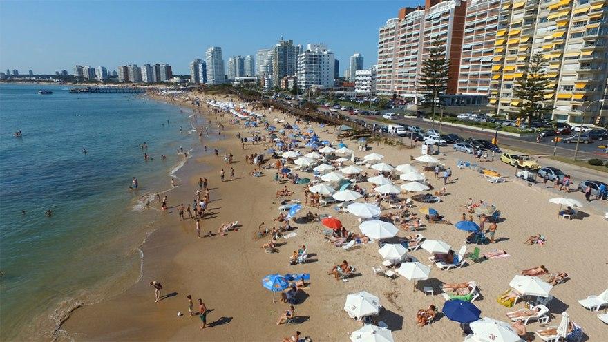 Punta del Este es el destino más elegido por los argentinos que buscan veranear en Uruguay