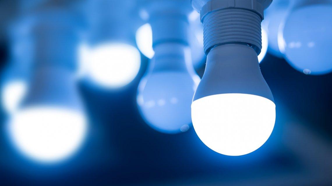 Las bombillas modernas consumen menos energía.