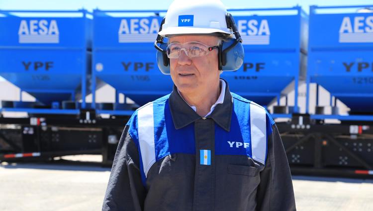 Guillermo Nielsen, presidente de YPF.