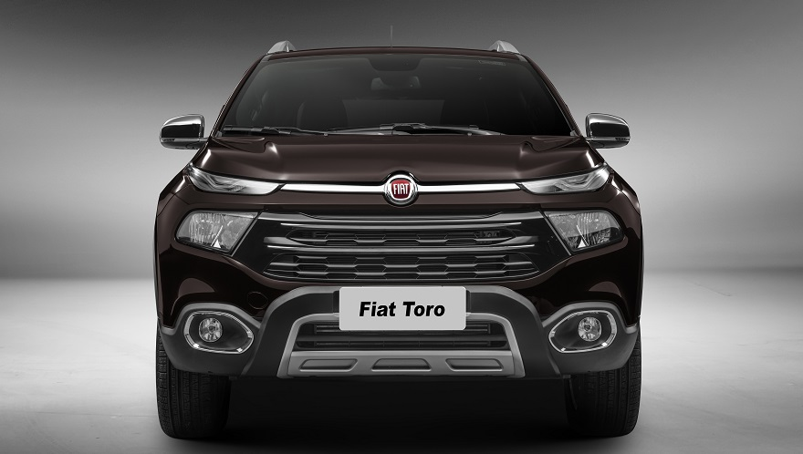 Fiat Toro, así es su frontal.