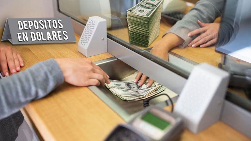 Hay gente también colocando dólares en caja de ahorro para pagar menos impuestos